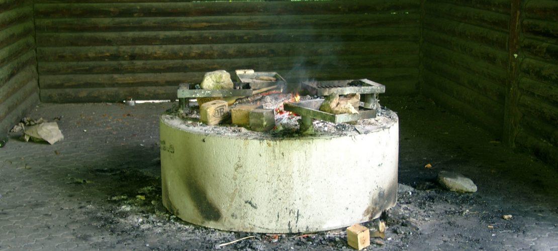 Bausätze für Grillstellen für Grillhütte