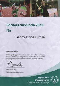 Foerderurkunde 2018