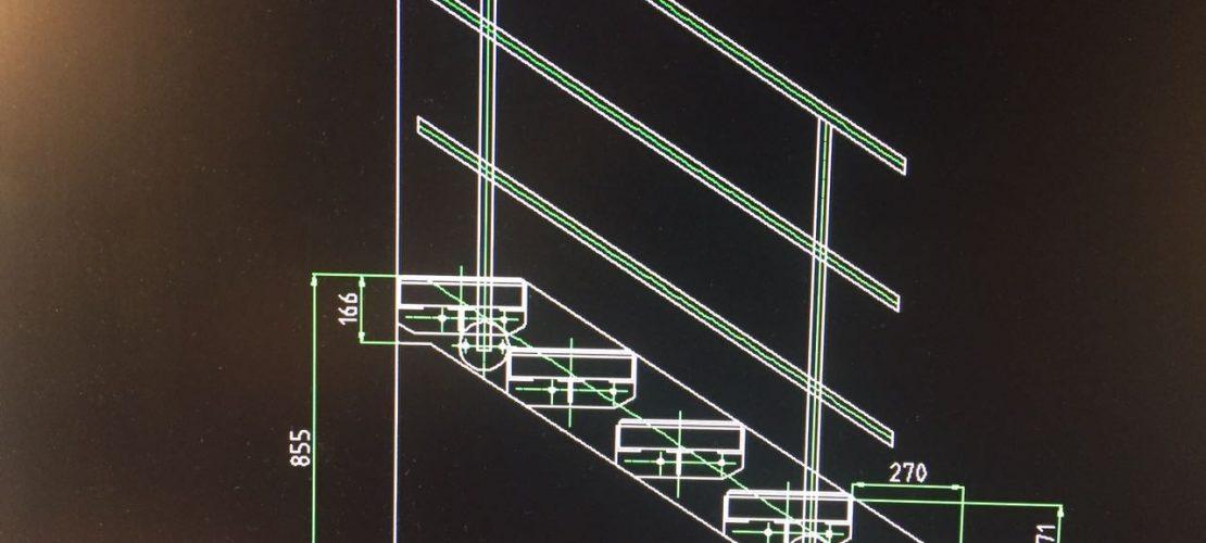 Außentreppe Planung