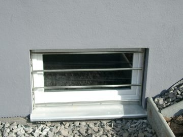 Fenstergeitter aus V2A II