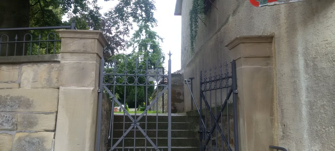 Schmiedeeisen Tor