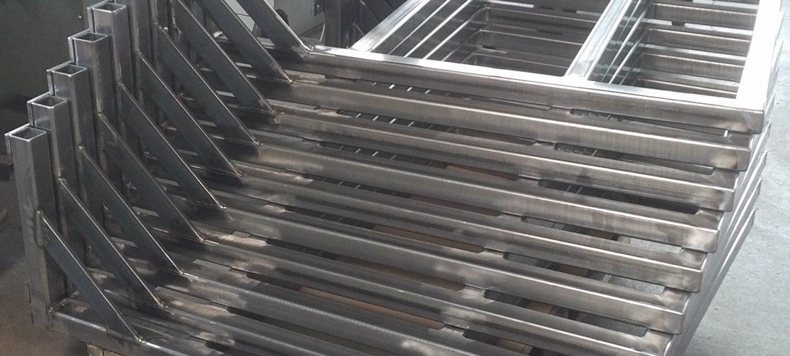 L-Gestell Stahl