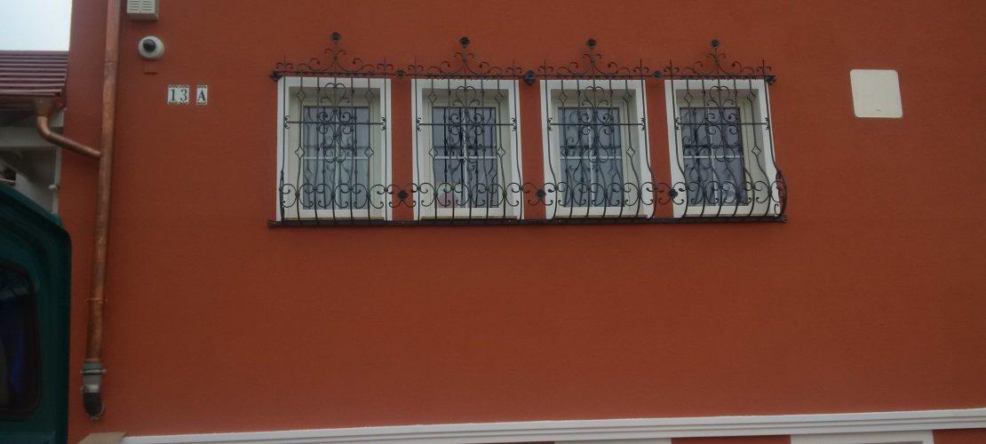 Fenstergitter aus Eisen