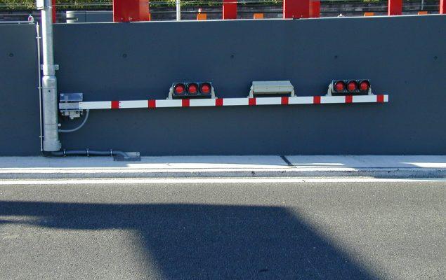 Schranken Schaal Sonderschranke - Tunnel Schranke